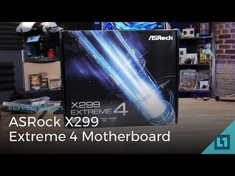 ASRock X299 Extreme 4 Motherboard Review + Linux Test