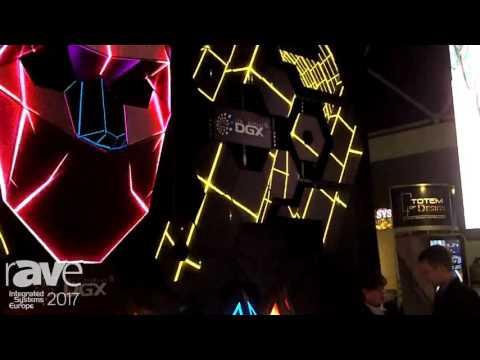 ISE 2017: DGX Showcases LED Display for Night Club
