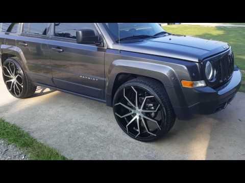 2015 jeep patriot on 24s