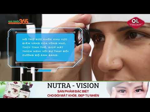 Nutra Vision bí quyết hoàn hảo cho đôi mắt khỏe đẹp tự nhiên