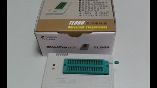 Review y Teardown: MiniPro TL866 Programador universal.