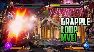 MvCI: Spencer Grapple Loop (AKA Defeating Ultron Sigma with Swag)