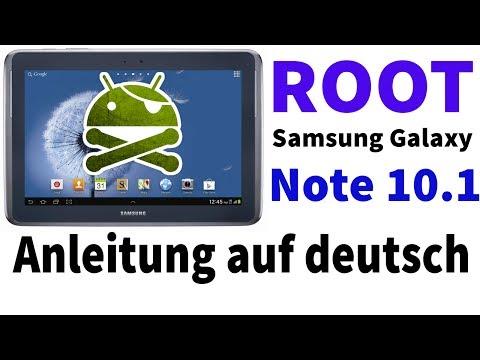 Anleitung: Root vom Samsung Galaxy Note 10.1   kein Datenverlust   deutsch [HD]