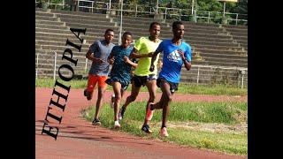 Warm-up Drills I Ethiopian Top Athletes
