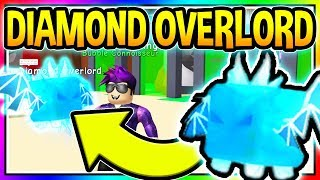 DIAMOND OVERLORD Bubble Gum Simulator New Update 14 Leaked Pet CODES Roblox