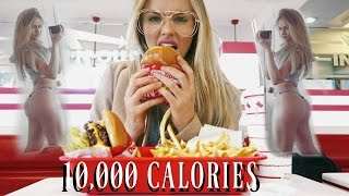 10,000 Calorie Challenge | EPIC CHEAT MEAL