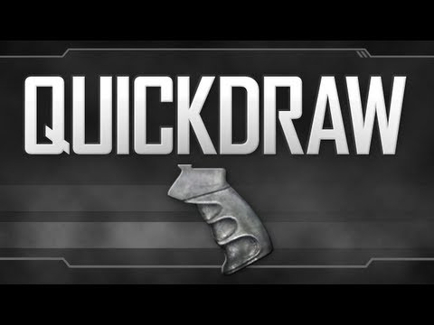 Quickdraw Handle - Black Ops 2 Attachment Guide