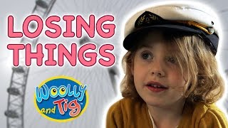 Woolly and Tig - Losing Things | Kids TV Show | Full Episode | Toy Spider