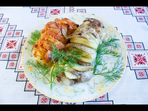 Картошка с мясом в духовке в фольге с пошаговой