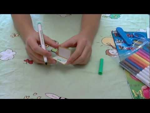 Как сделать ноутбук для кукол барби своими руками