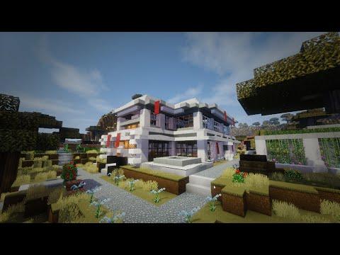 Minecraft casa moderna en el mar modern house descarga for Casa moderna minecraft 0 11 1