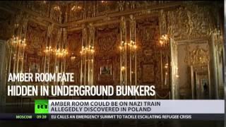 Brit journo: Amber Room hidden in Nazi Gold Train