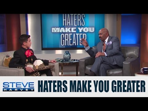 Haters Aren't Going To Stop Me || STEVE HARVEY