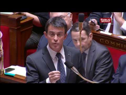 """SCNF : """" Ils n'ont aucune raison de faire grève aujourd'hui ! """" déclare Manuel Valls"""