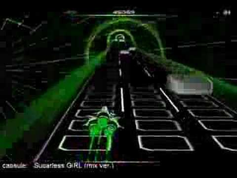 Audiosurf - Sugarless GiRL (rmx ver.) by capsule