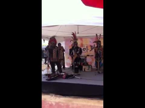 American Indian Folk Music at Nonsan Strawberry Festival, K