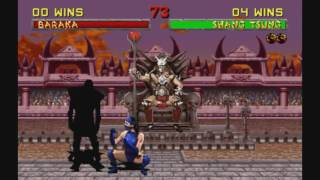 Mortal Kombat 2 (Arcade) - Fatalities on Noob Saibot