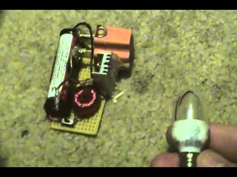 High Voltage Joule Thief