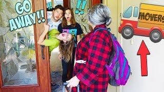 GROUCHY GRANNY IS MOVNG INTO OUR HOUSE!