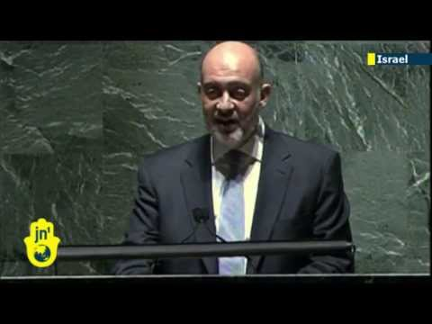 Israeli UN ambassador Ron Prosor slams Palestinian leaders for incitement ahead of peace talks