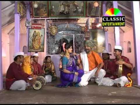 Classic Marathi Lavani Song   Aal Kalluch Vaar   Hanumat Dolas...