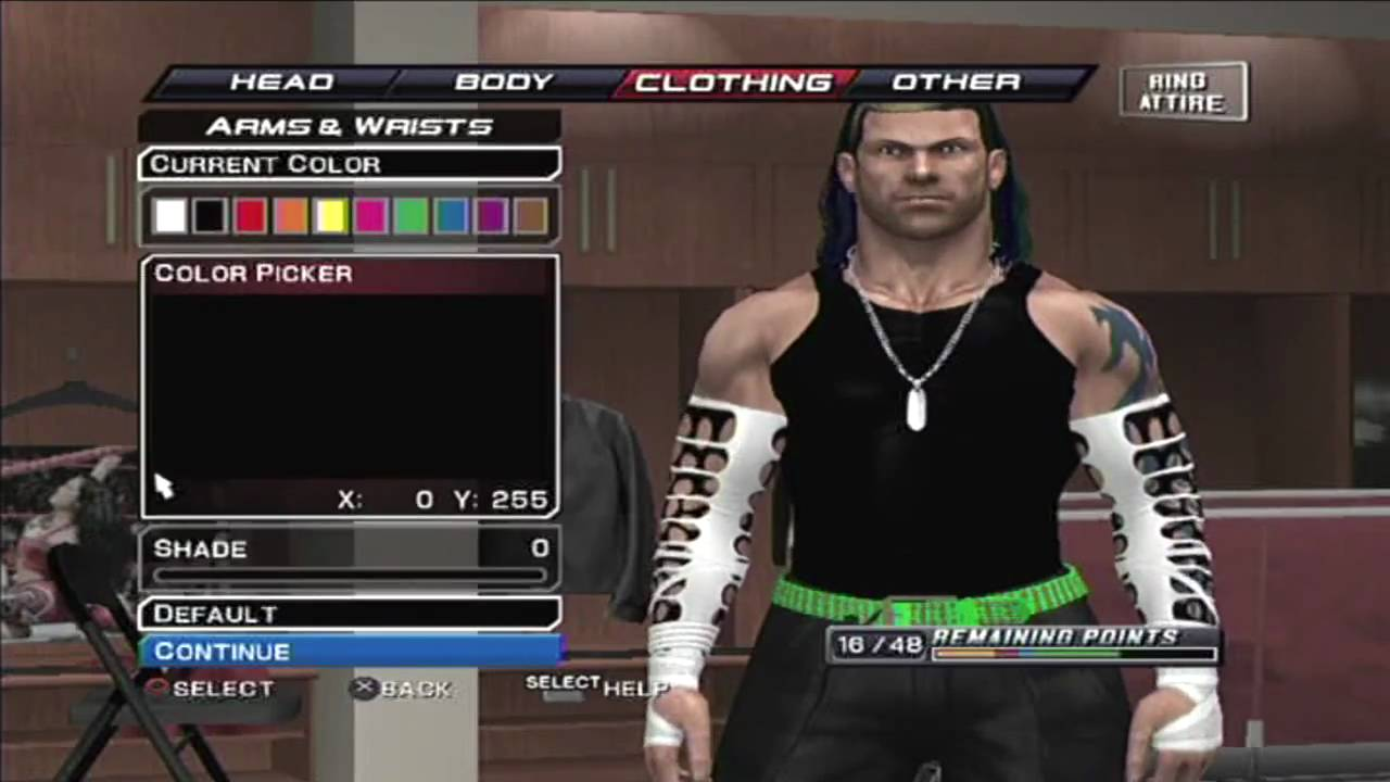 How to make Jeff Hardy in Umaga Without Face Paint