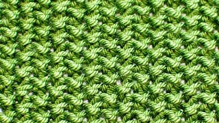 (Moss) - Easy Stitches - Free Knitting Patterns Tutorial - Watch Knitting - pattern 3