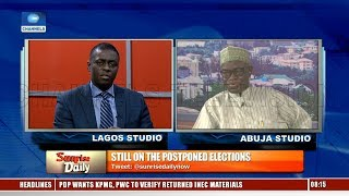 Election Outcome Would Have Been Terrible If Held - INEC Nat'l Commissioner Pt.1 |Sunrise Daily|