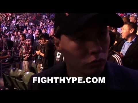 RUSLAN PROVODNIKOV SAYS NOBODY AT 160 BEATS GOLOVKIN WOULD LIKE TO SEE HIM FIGHT ANDRE WARD