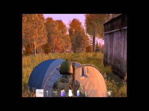 Mini dayz как сделать палатку