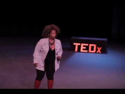 Barely recognizable: Lisa Nichols at TEDxCalicoCanyon