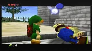 Lets Play The Legend of Zelda Ocarina of Time part 3 (hyrule castle)