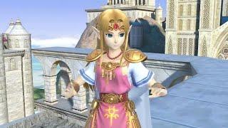 Super Smash Bros. Ultimate : Zelda Trailer Analysis & Gameplay
