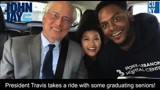 Carpool Karaoke with  President Travis