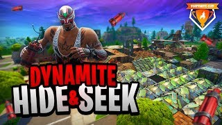 DYNAMITE HIDE & SEEK - Fortnite Cup Mini-Game week 4
