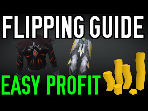 Flipping/Merching Guide: Easy Profit and Money Making [Runescape 2014]