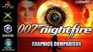 007 Nightfire | Graphics Comparison | ( PS2 , Gamecube , XBOX , PC )