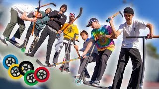 Scooter Olympics - Hockey!! │ The Vault Pro Scooters
