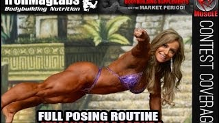 Juliana Malacarne Complete Posing Routine From Dallas Europa Games 2014!