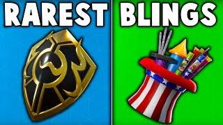 5 NEW RARE BACKBLINGS in Fortnite... (u don't have these blings)