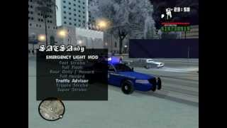 In Game Setup- GTA San Andreas: SAPD:FR