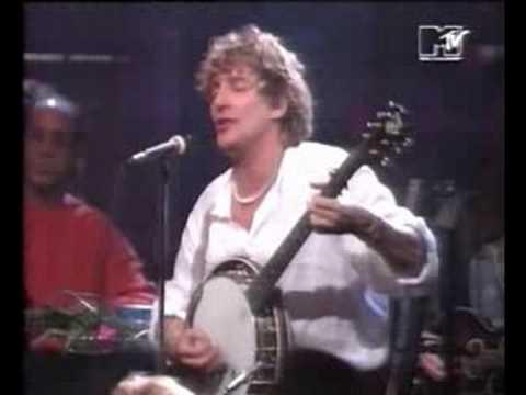 Rod Stewart & Ron Wood - Mandolin Wind