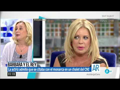 Tertulia sobre Barbara Rey, SM Juan Carlos y el piso del CESID (ahora CNI)