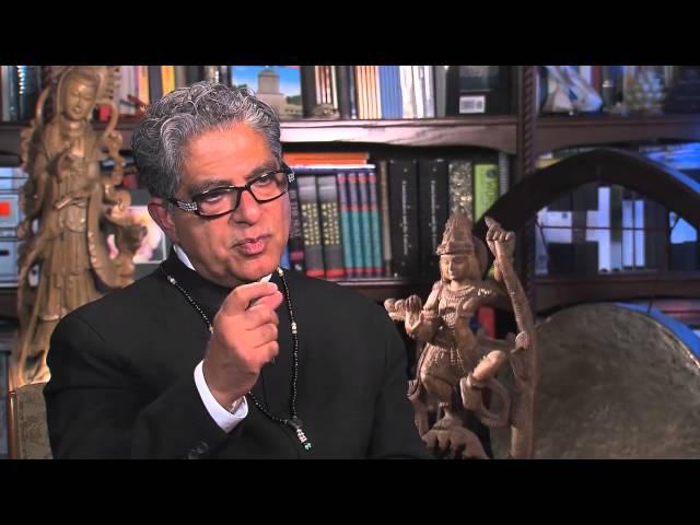 God is Pure Awareness - By Deepak Chopra