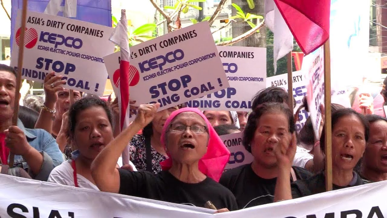 Climate groups urge Kepco to stop coal power projects in PH