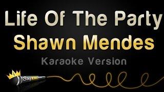 Download Lagu Shawn Mendes - Life Of The Party (Karaoke Version) Gratis STAFABAND