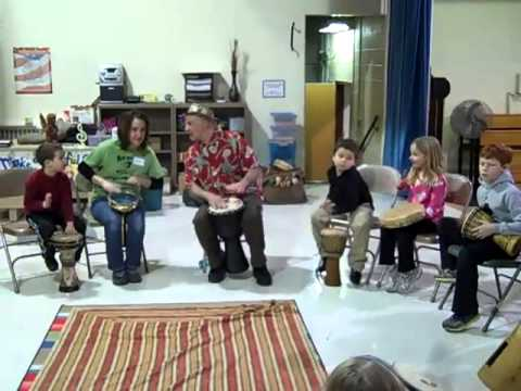 Drumming Part II - Family Night at Most Precious Blood Catholic School