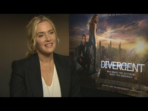 Kate Winslet on Divergent, playing a baddie and getting naked