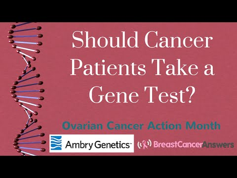 Should All Ovarian Cancer Patients Take a Gene Test?