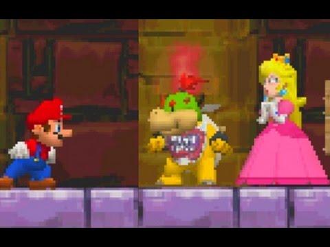 New Super Mario Bros. DS Walkthrough - World 2 (All Star Coins)